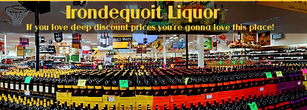 Welcome to Irondequoit Plaza Discount Wine & Liquor - www.ROCwine.com
